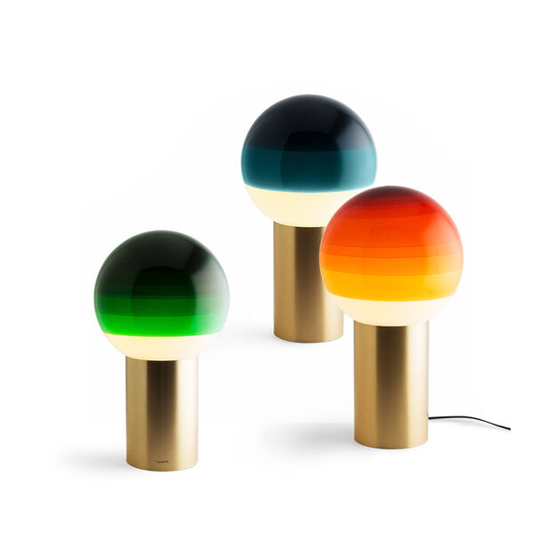Dipping Table Lamp in color