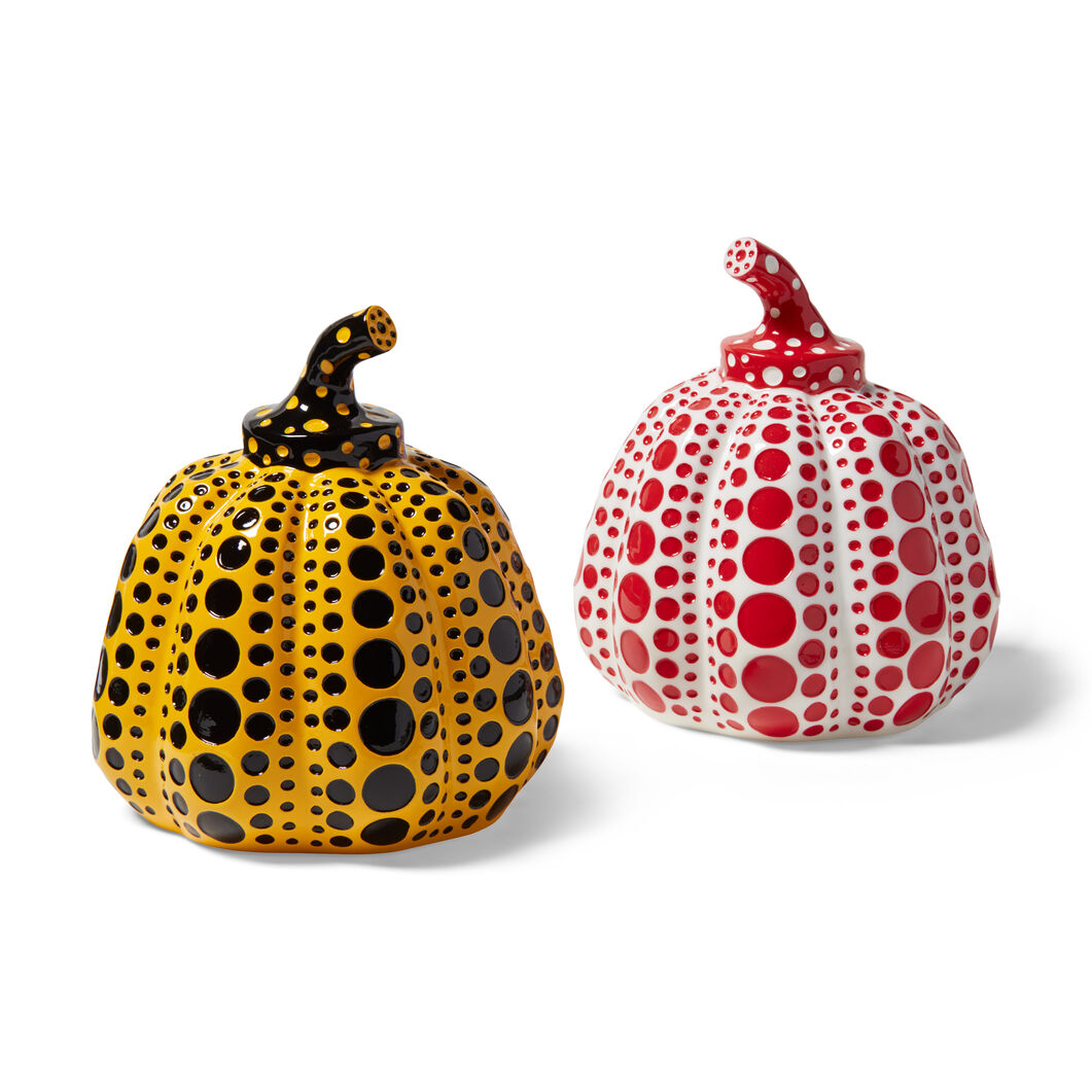 Kusama Pumpkins in color Yellow