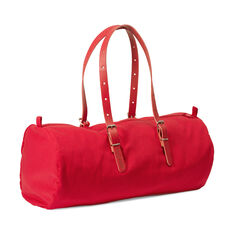 Red DUFFLE-CO Bag in color