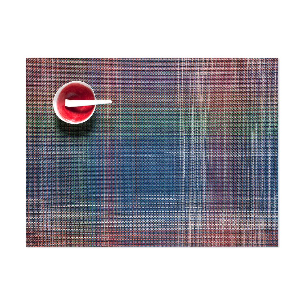 Chilewich Plaid Placemat in color Multi