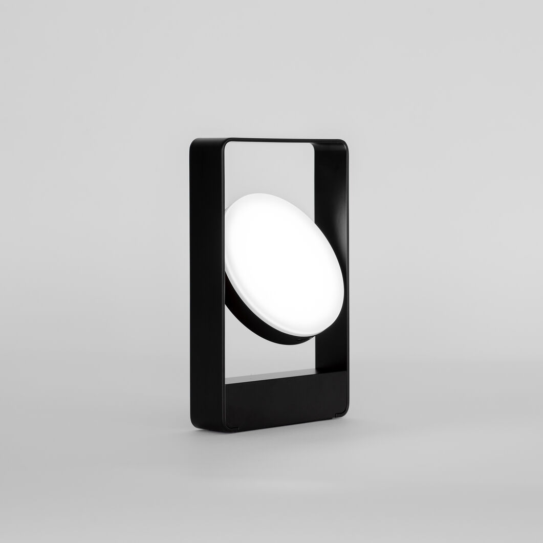 Mouro Table Lamp in color Black