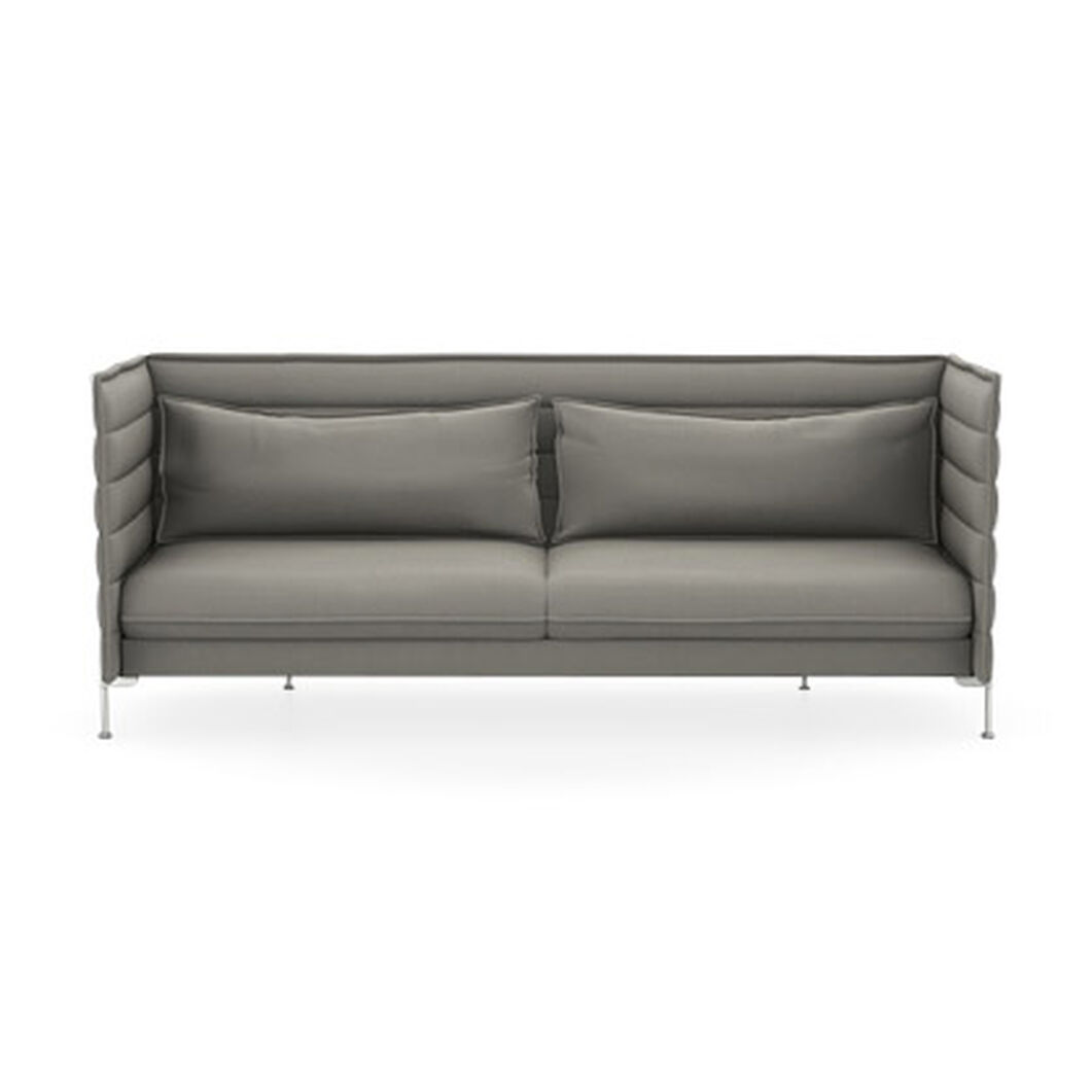 Alcove Sofa Three-Seater in color Salt n' Pepper