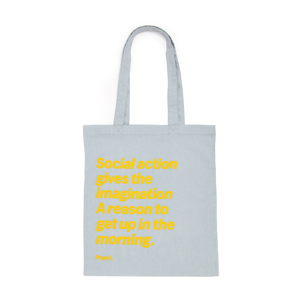 Artist Quote Totes in color Pope. L