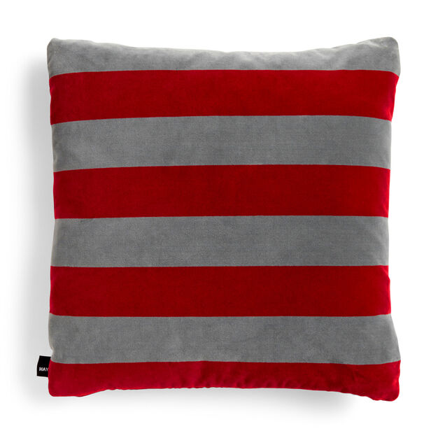 HAY Soft Stripe Cushion in color Fuchsia