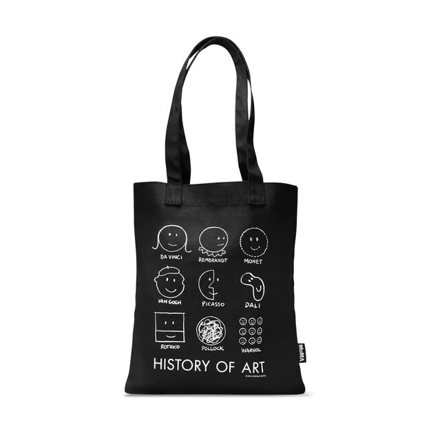 History of Art Tote in color