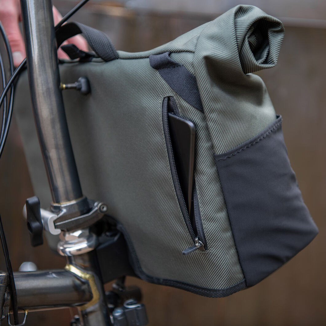 Borough Roll Top Bag for Brompton Foldable Bikes in color