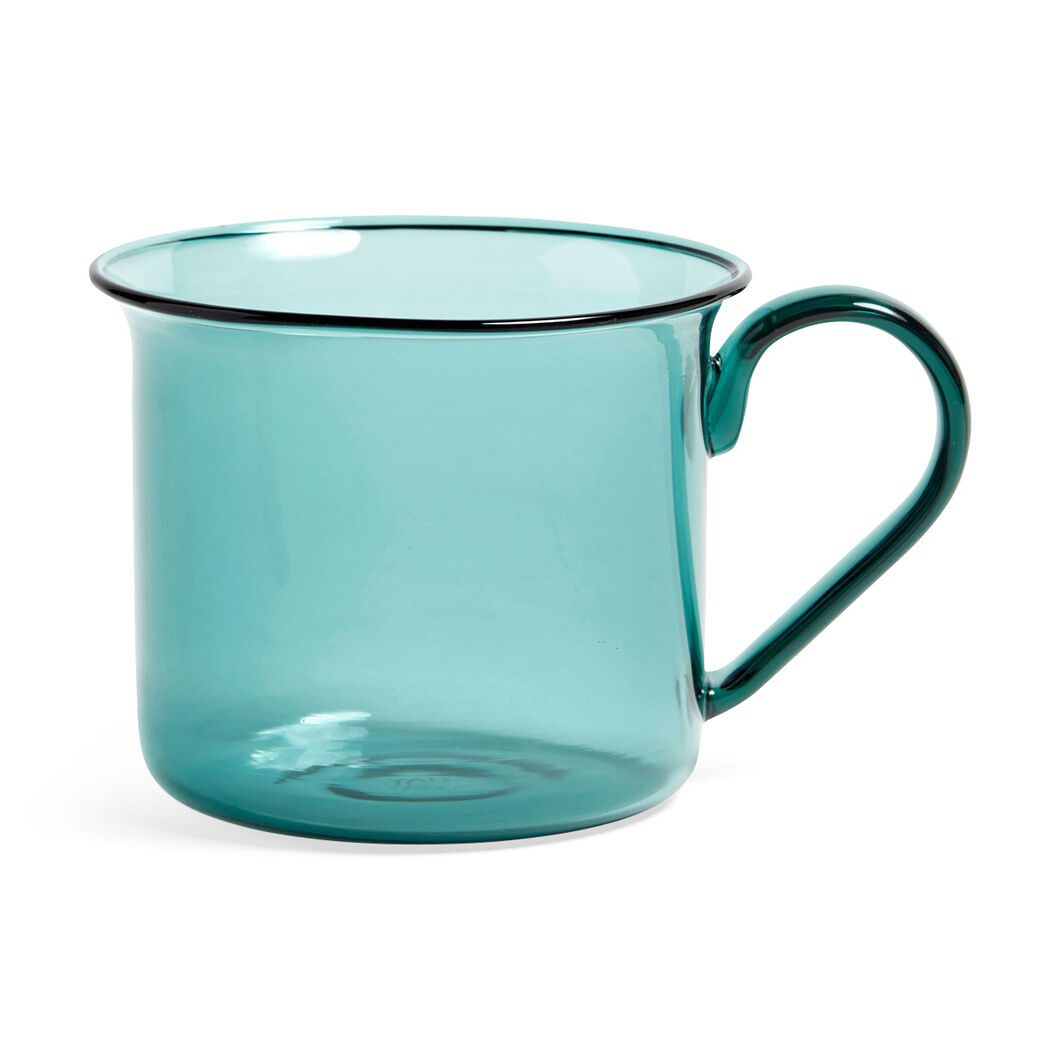 HAY Borosilicate Mugs in color Teal