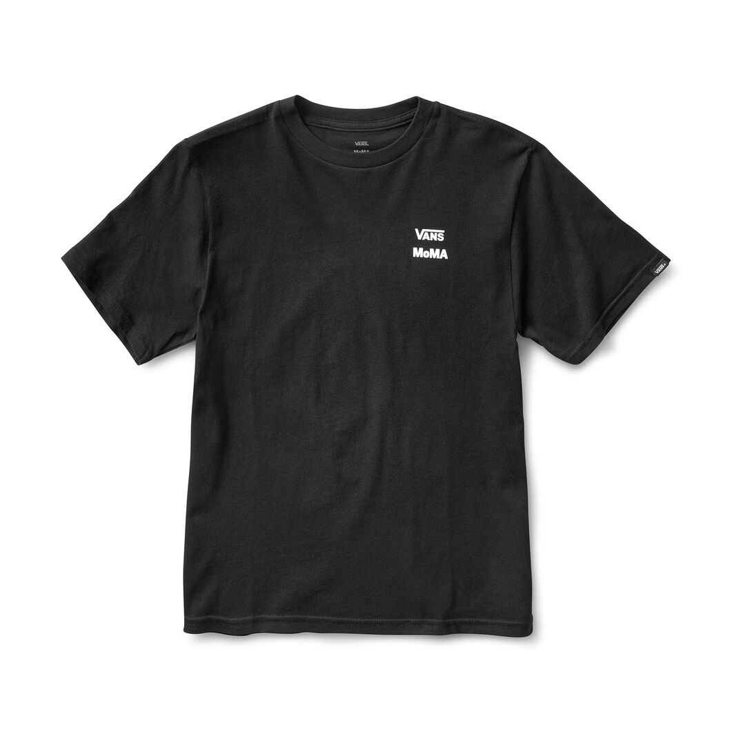Kids' MoMA and Vans Short-Sleeve T-Shirt with Checkerboard Logo in color