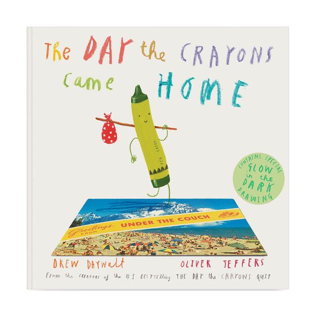 The Day the Crayons Came Home in color