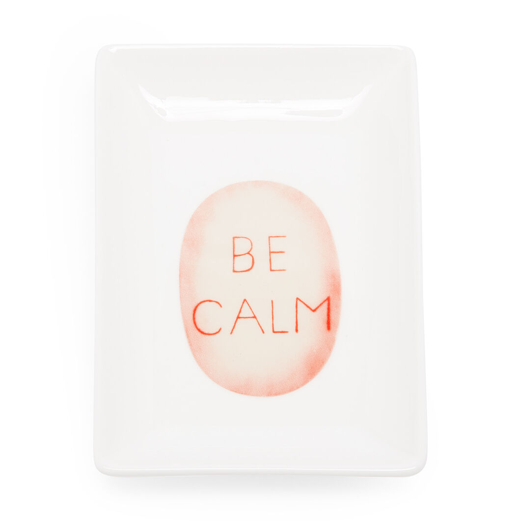 Louise Bourgeois Be Calm Catchall Tray in color
