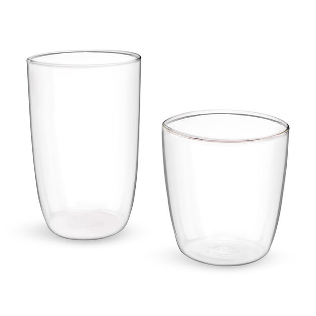 Bodum Kvadrant Basic Glass Cup in color Transparent
