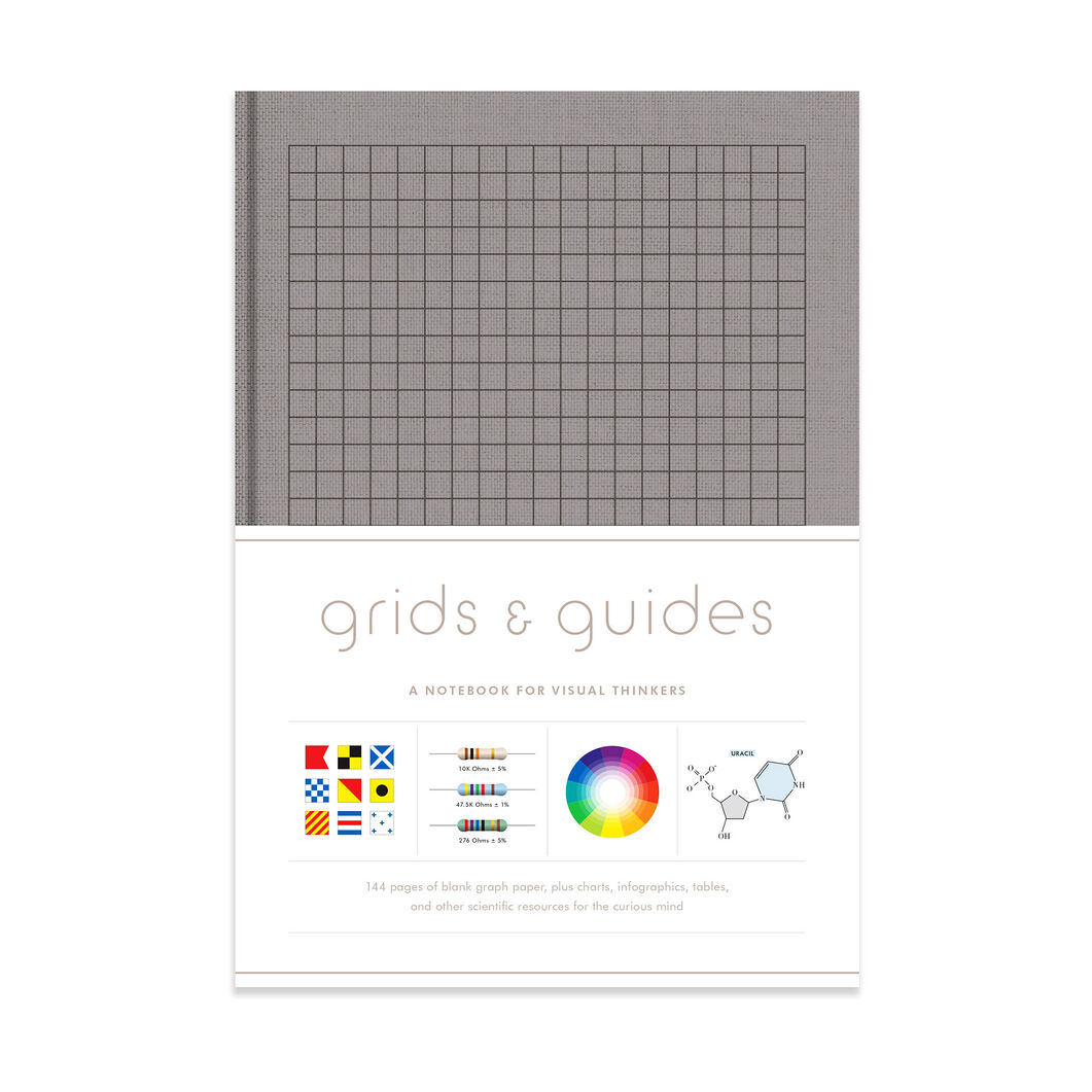 Grids & Guides: A Notebook for Visual Thinkers Gray edition - Clothbound in color