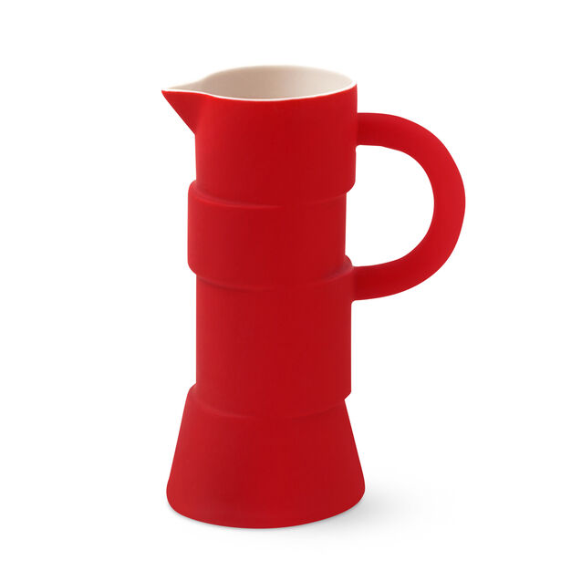 Split Pitcher & Creamer - Pitcher in color Red