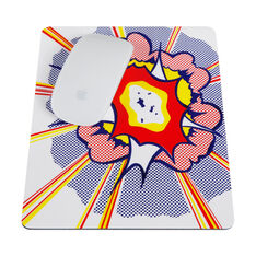 Roy Lichtenstein: Mousepad in color