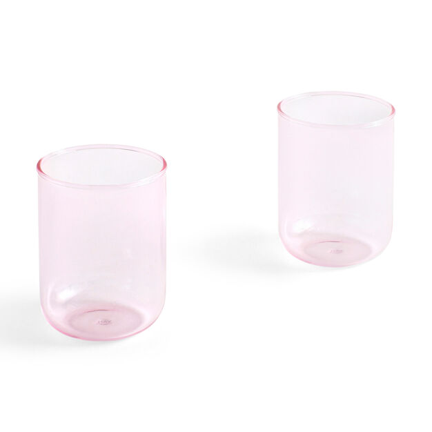 HAY Tint Glasses - Set of 2 in color Pink