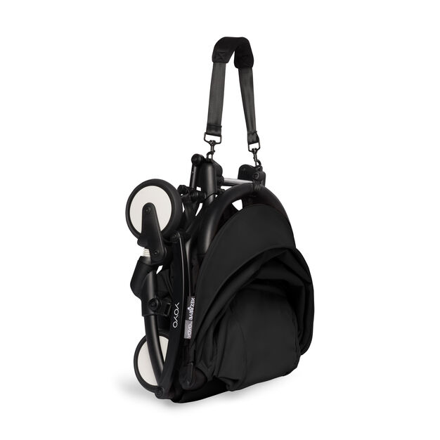 """<div>Babyzen™ <span style=""""font-weight: 400;"""">YOYO<sup><span style=""""font-weight: 400;"""">2</span></sup></span> 6+ Complete Stroller</div> in color Black/ Black"""