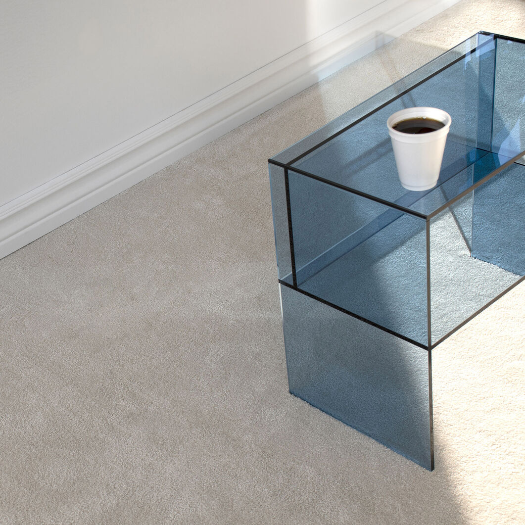 Two-Way Side Table in color Blue
