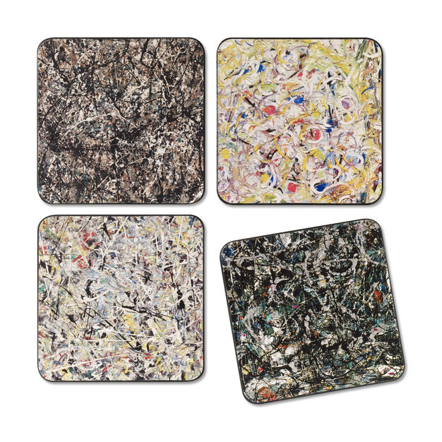 Pollock Coasters in color