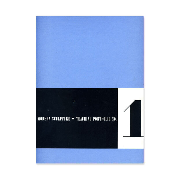 Teaching Portfolio No. 1: Modern Sculpture - Paperback in color