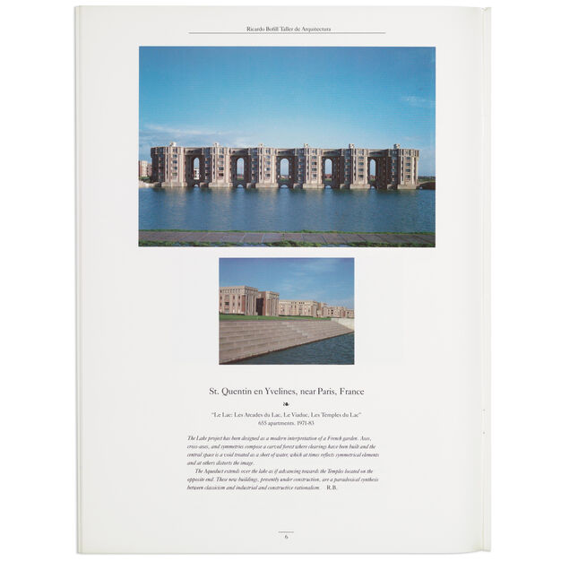 Ricardo Bofill and Leon Krier: Architecture, Urbanism, and History - Paperback in color