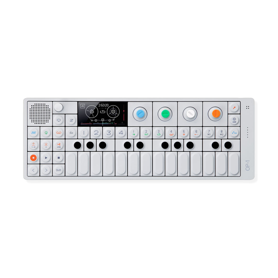 OP-1 Portable Synthesizer in color