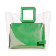 Staud Shirley Tote Bag in color Green