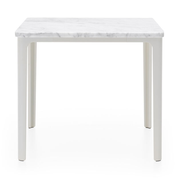 Carrara Marble Plate Table in color