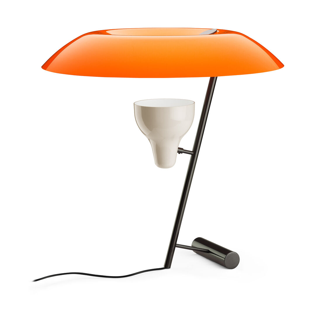 Model 548 table lamp orange moma design store model 548 table lamp orange in color orange geotapseo Image collections
