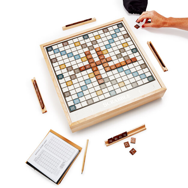 Scrabble Luxe Edition Game in color