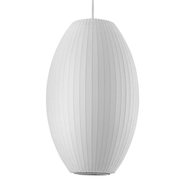 George Nelson Bubble Lamp® Cigar Pendant in color