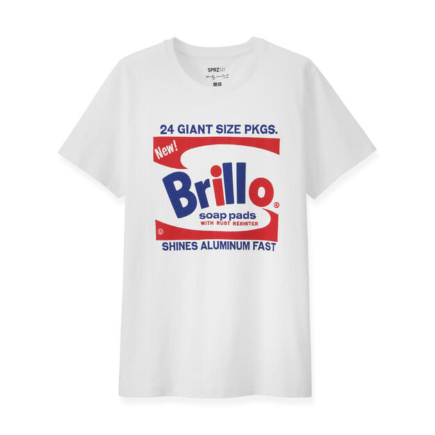 UNIQLO Andy Warhol Brillo Box T-Shirt in color