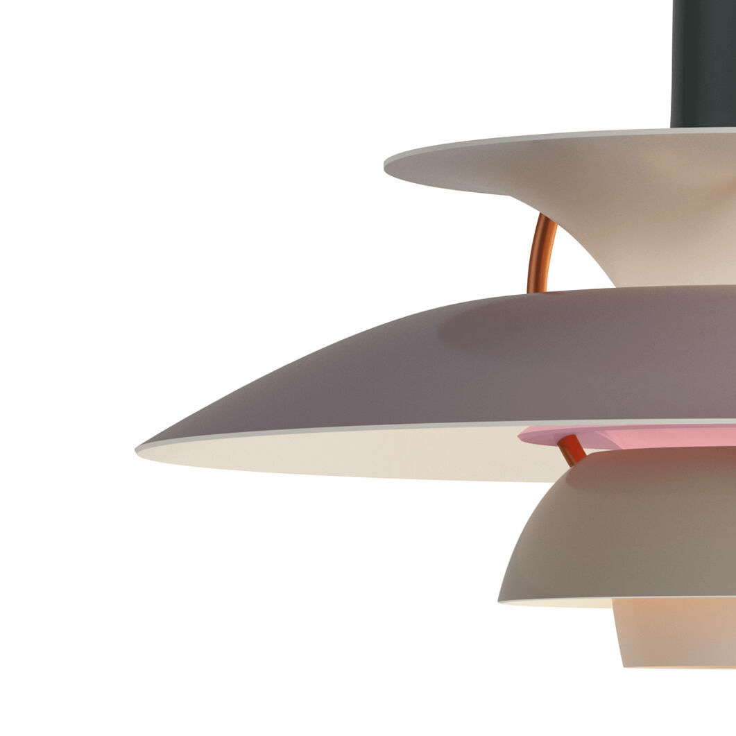PH 5 Hanging Lamp in color Gray