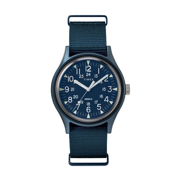 Timex MK1 Watch in color Blue