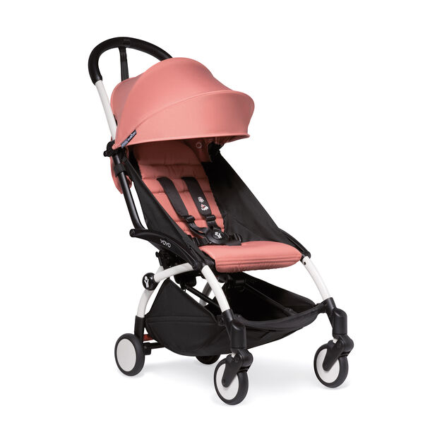 """<div>Babyzen™ <span style=""""font-weight: 400;"""">YOYO<sup><span style=""""font-weight: 400;"""">2</span></sup></span> 6+ Complete Stroller</div> in color Ginger/ White"""