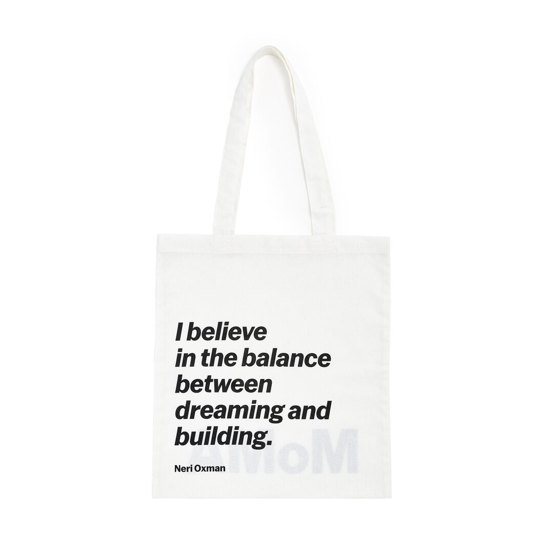 Artist Quote Totes in color Neri Oxman