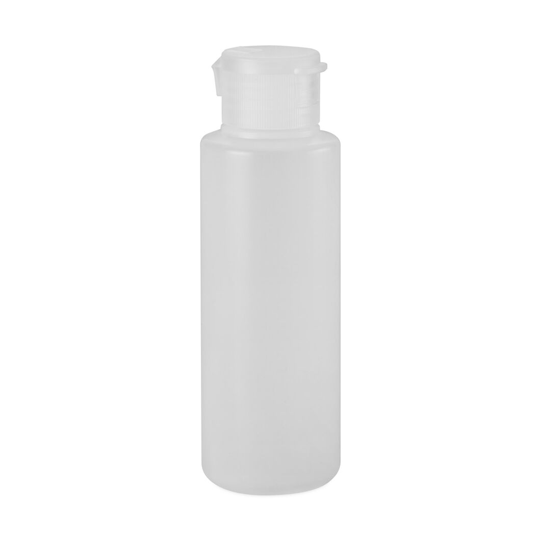 MUJI Bottle with Snap Cap  1 oz. in color White