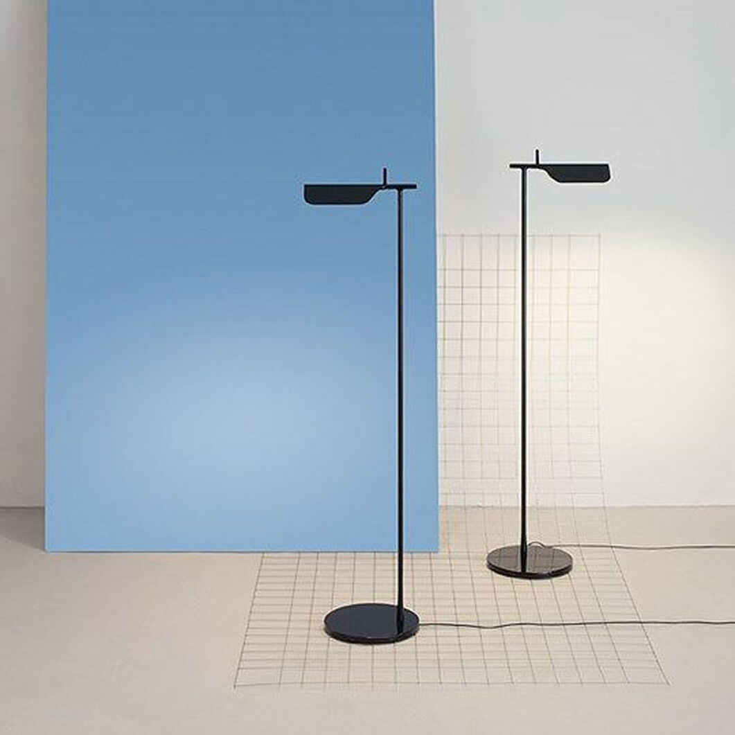 Flos Tab LED Floor Lamp in color Black