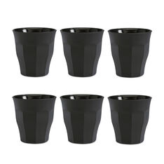 Soft Touch Black Tumblers in color