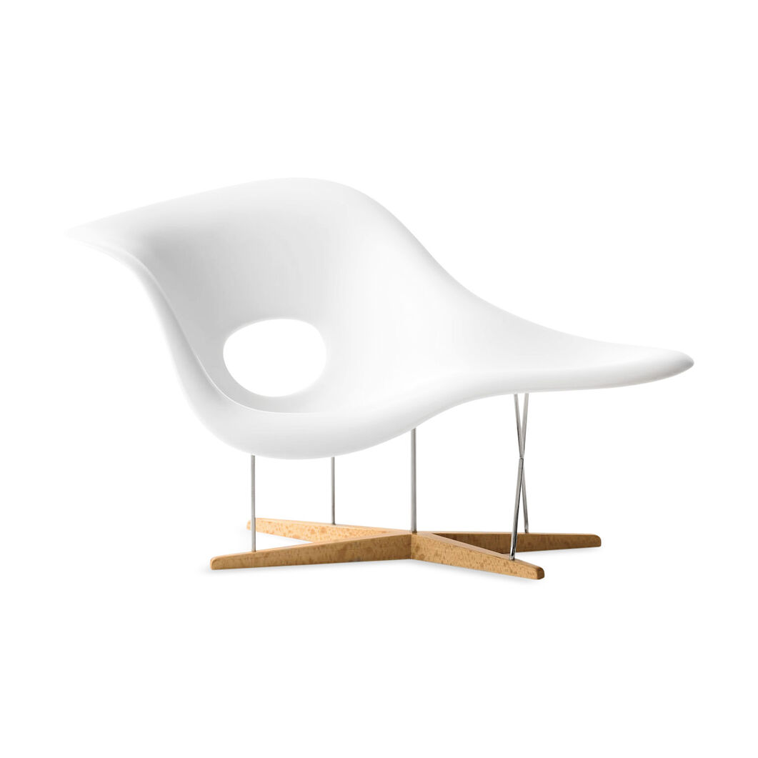 Miniature Chair  Eames La Chaise in color
