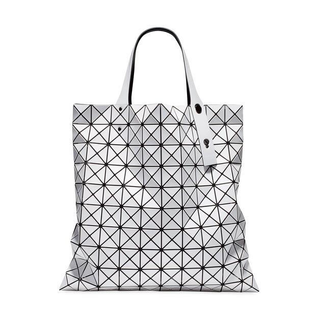 BAO BAO ISSEY MIYAKE Prism Tote in color White