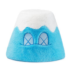 KAWS: HOLIDAY Mount Fuji Plush in color Blue