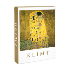 Gustav Klimt Note Card Box in color