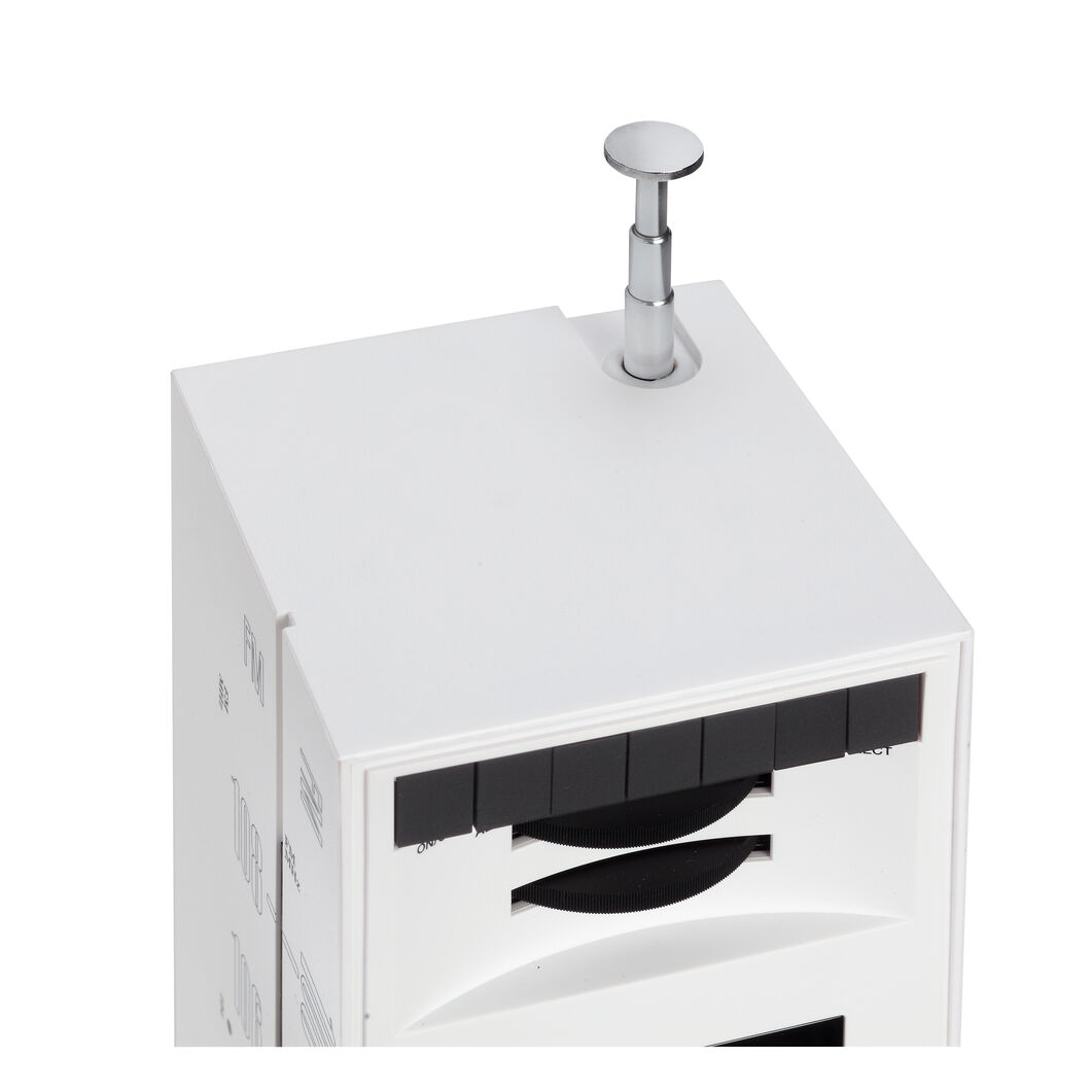 Grattacielo Radio Speaker by Brionvega in color White