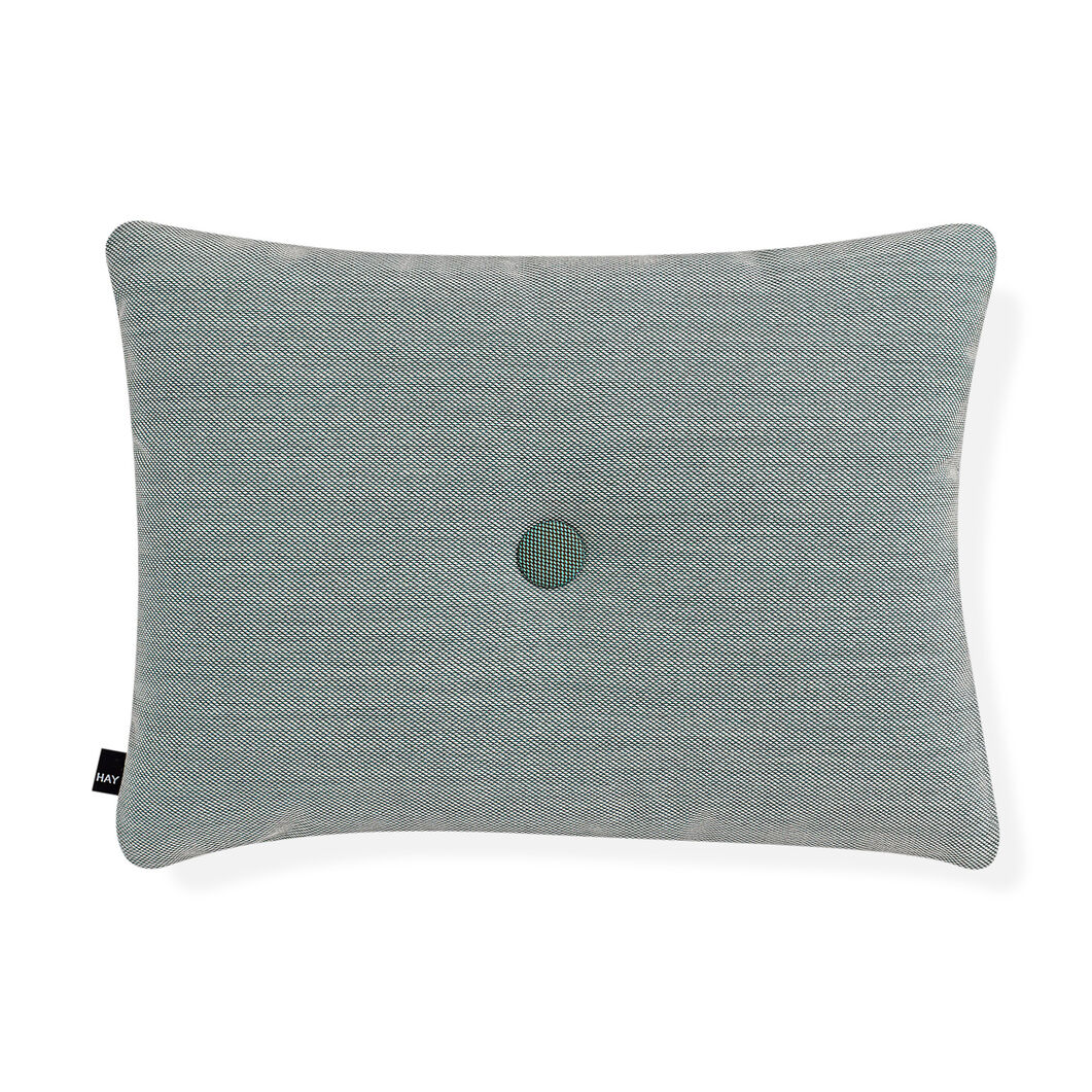 HAY Dot Cushion - Mint Steelcut Trio in color Mint