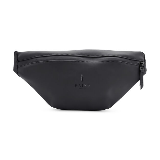 Rains Bum Bag in color Black