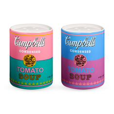 Andy Warhol Soup Cans Salt & Pepper Shakers in color