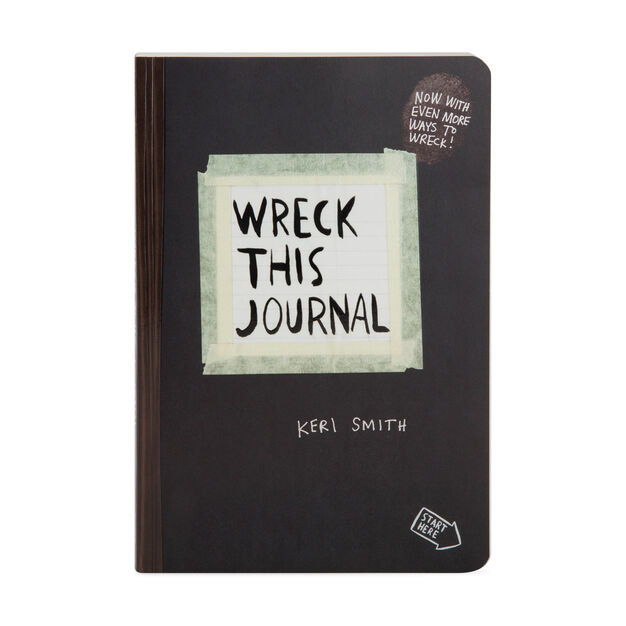 Wreck This Journal in color