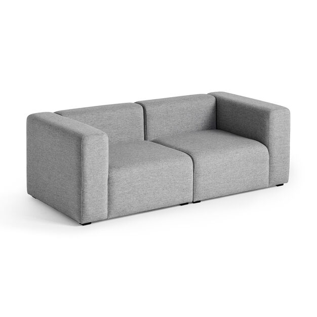 HAY Mags Two-Seater Sofa in color Grey