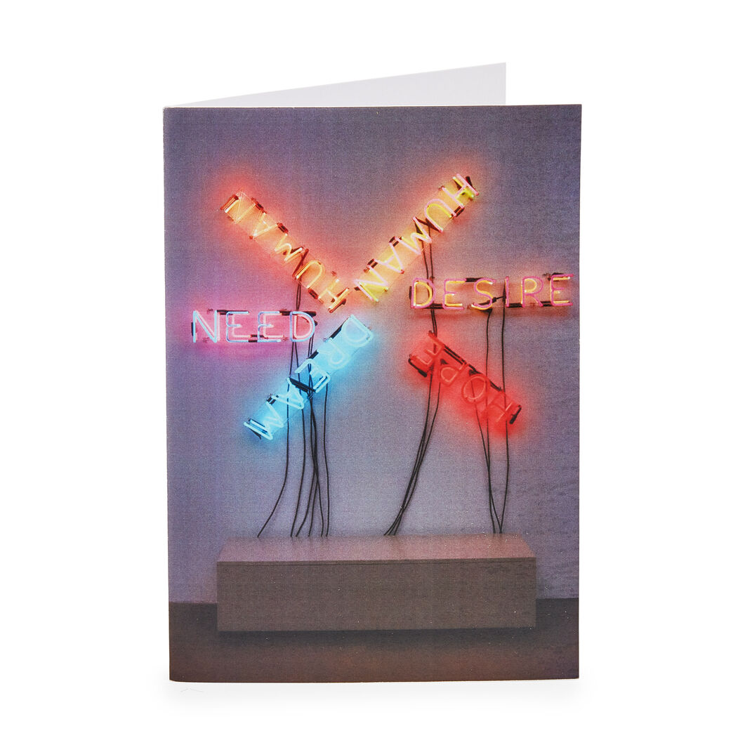 Bruce Nauman Holiday Cards (Box of 12) in color