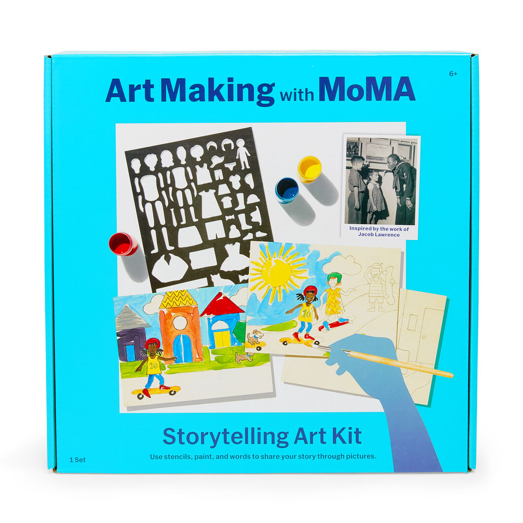Art Making with MoMA: Storytelling Art Kit in color